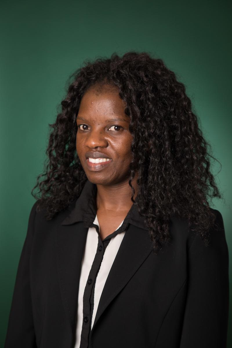 Memory Ndanga from Department of Health Informatics